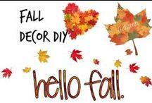 ✄ Fall Decor DIY