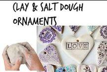 ✄ Clay & Salt Dough Ornaments