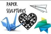 ✄ Paper Sculptures