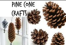 ☘ Pine Cone Crafts