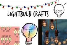 ☀︎ Lightbulb Crafts