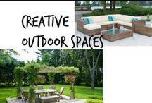 ☘ Creative Outdoor Spaces