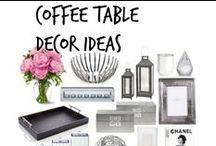 ❣  Coffee Table Decor Ideas