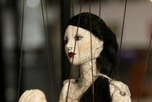 ANOTHER PASSION: MARIONETTES & PUPPETS: Another world of glorious imagination. Animated dolls?