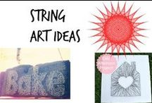 ✄ String Art Ideas