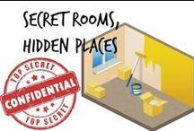 ⚇ Secret Rooms, Hidden Places