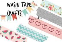 ✄ Washi Tape Crafts