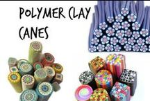 ✄ Polymer Clay Canes