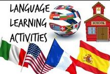 ⚑ Language Learning Activities / This board is about ideas, crafts and activities to learn new languages such as spanish, english, etc. You can use these to make new activities and crafts with other languages too, just keep in mind the ideas!