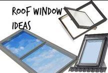 ⌂ Roof Window Ideas