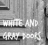 ✦ WHITE & GRAY Doors