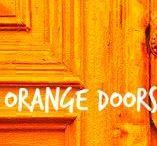 ✦ ORANGE Doors