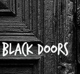 ✦ BLACK Doors