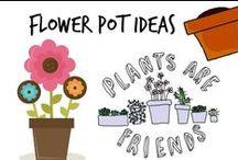 ☘ Flower Pot Ideas