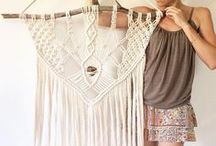 Macrame by me • Heart & Hands / Macrame wall hanging infused with a Lemurian Quartz crystal.