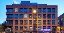 The Curtain hotel & members club, Shoreditch / Contemporary urban hotel architectural design in East London