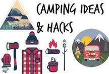 ⧊ Camping Ideas & Hacks