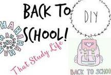 ✄ ✍ DIY School Supplies - Back to School DIYs!
