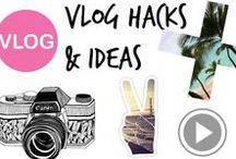 ✈︎ ◉ Vlog Hacks & Ideas