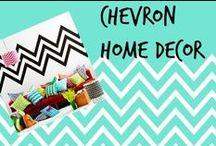 ✄ ⌂ Chevron Home Decor (& DIYs)