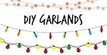 ✄ DIY Garlands