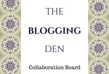 The Blogging Den   Collaboraton Board / To join the board please follow Beautifully Evolving not just this board.  Then send a message to me here or through email : beautifullyevolving1987@gmail.com   For every pin you post to the Blogging den board please repin two posts for someone else   Let's spread the love ❤️