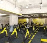 One 10 cycle studio, London / One 10: London's first digitally-connected spin studio and DMA's first venture into fitness design is now open. Nordic-chic meets industrial minimalism meets club-like luxe in our interior design for this unique indoor cycle studio, juice bar and retail space