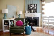 Mantel and Hearth Decorations / A collection of beautiful decorations for your hearth, fireplace, and mantel.