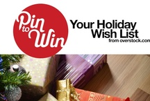 PIN TO WIN YOUR HOLIDAY WISH LIST