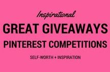 Great Give-aways / Pinterest competitions. Pin it to win it giveaways. United Kingdom or worldwide.