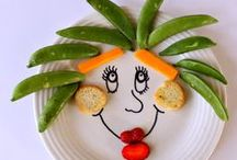 Fun and healthy food for kids / Healthy food ideas for kids that are both delicious and fun. #fruit #vegetables #foodart #nomnom #snacks #lunch