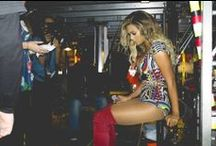 """Beyonce in Pucci for his  """"Mrs. Carter Show"""" World Tour / Emilio Pucci has created looks for Beyoncé Knowles' the Mrs. Carter Show, which kicked off in Belgrade, Serbia on April 15th. Creative Director Peter Dundas worked with Beyoncé to create costumes that resonate with Beyoncé's modern take on glamour. / by Emilio Pucci"""