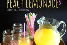 LEMONADE Stand Sips & Sweets! / Lemonade Recipes (aka: sunshine by the sip/bite!)