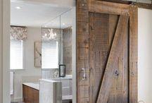 Doors / I love colorful doors! #doors #interiordesign / by Calla Design