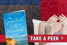 Book Club Ideas / Check out Spa Week Daily's Book Club for the newest book reviews, author chats and more: http://www.spaweekblog.com/ / by Spa Week