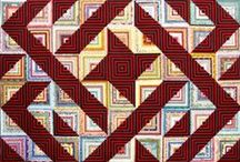 Quilts: Log Cabin / by AgnesEthel QuiltPox