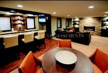 HGTV: Basement / Basement / by Jessica Vucish