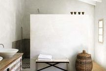 Master Bath / A relaxing, refreshing space equally refined and rustic