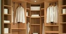 Closet / Beautiful and smart storage for attire