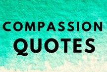 Compassion and Self Acceptance Quotes / To help love and accept our human selves. Self compassion and self acceptance wisdom quotes.