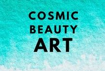 Cosmic Beauty / Cosmic and cosmos related images. The universe and magical sparkle.