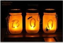 Halloween Decorating Ideas / Decorate your mantel for Halloween! #fireplacemall