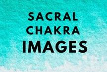 Sacral Chakra / Help for an under-active sacral chakra. The colour orange in abundance.
