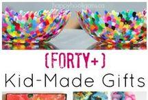 Homemade Gift Ideas / Kid-made and Mummy-made gift ideas that you can make at home. / by Danya Banya