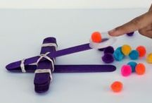 Fun Science: Physics / Lots of playful physics ideas for kids to try at home.  / by Danya Banya