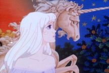 The Last Unicorn / Such a big movie for me deserves its own board for art and quotes / by Joanna Connelly