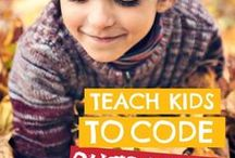 Coding and Computer Science for Kids / Fun ways to teach kids about technology, coding and computer science.