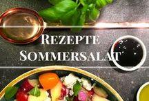 Frische Sommer Rezepte / Sammlung leckerer Rezepte für die nächste Grillparty oder das Picknick. Auch als leichtes Lunch perfekt geeignet
