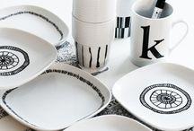 Porcelain / Inspiration til at male med pen på porcelain