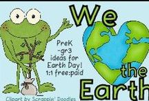 We love the Earth! / Fun PreK-gr3 ideas for Earth Day! 1:1 free:pd please. To join this board, please email iam@thatfunreadingteacher.com with your Pinterest url and specify the name of the board. / by I.M. @AVision4RKids